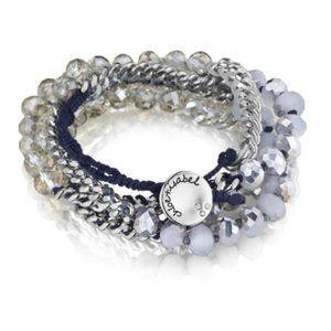Chloe and Isabel Bead Chain Multi-Wrap Bracelet